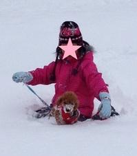 雪だらけ、ショコラsyuusei.jpg